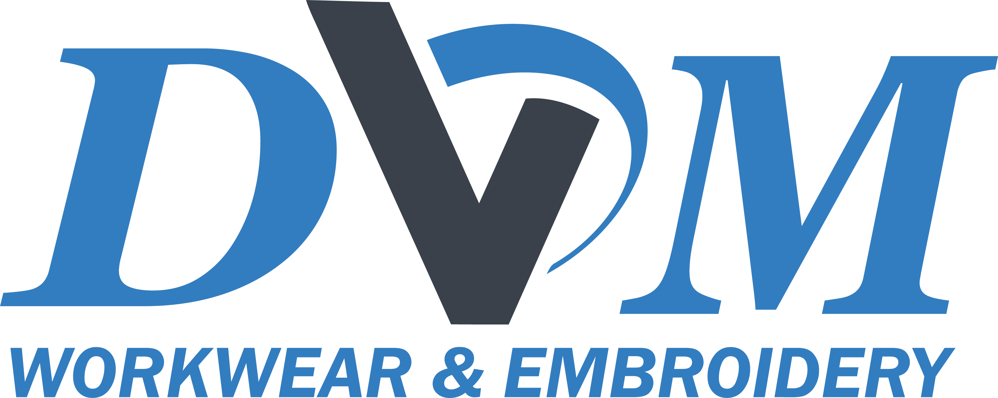 DVM Workwear & Embroidery Logo